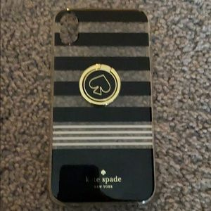 Kate Spade XR Phone Case with Kick stand EUC